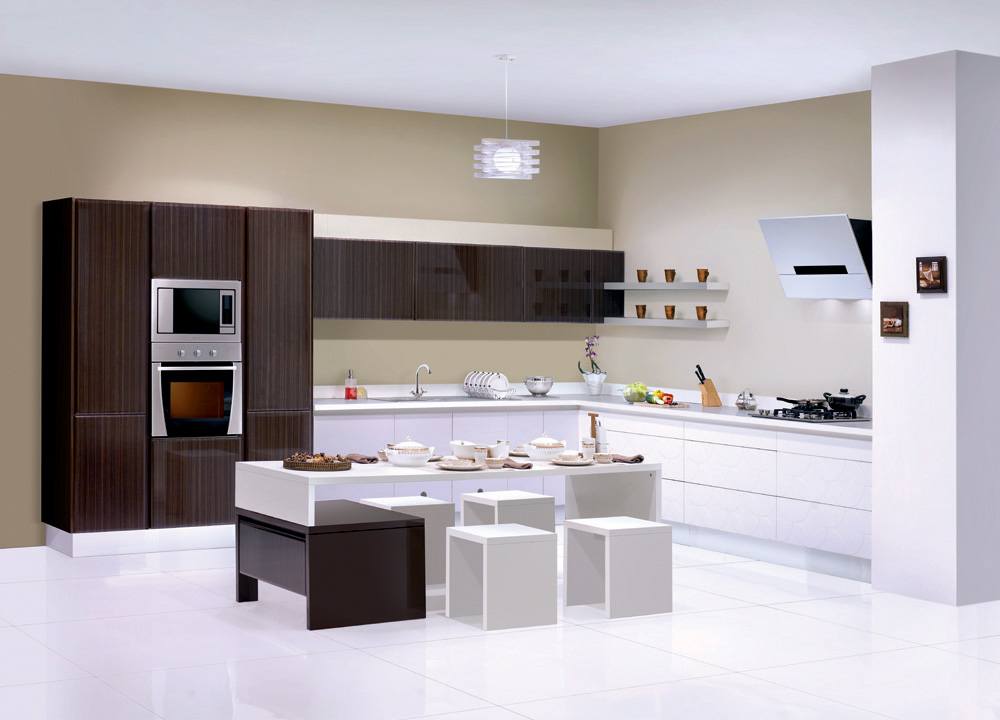 modular kitchen hhys inframart. Black Bedroom Furniture Sets. Home Design Ideas